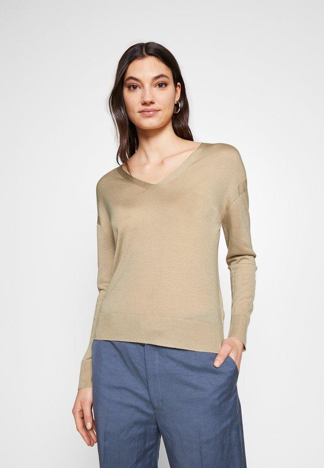 ROSANNA - Stickad tröja - frappe