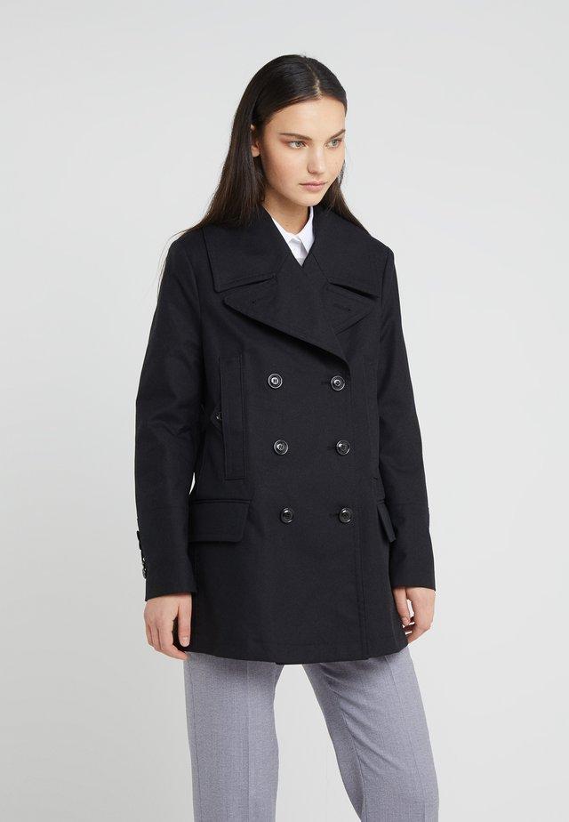 ALHENA - Cappotto corto - black