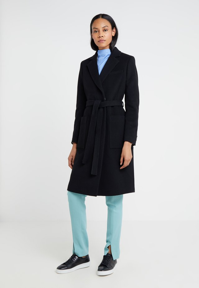 RIMINI - Cappotto classico - black