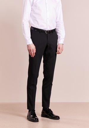 GORDON - Oblekové kalhoty - black
