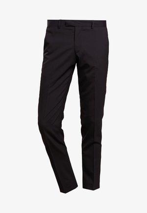 GORDON - Suit trousers - black