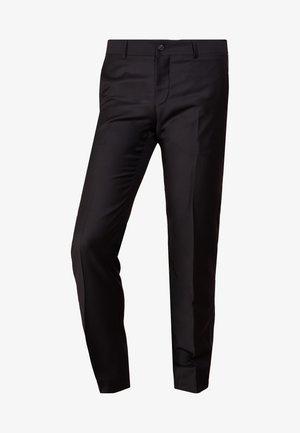 TERRISS TUXEDO PANTS - Pantaloni eleganti - black