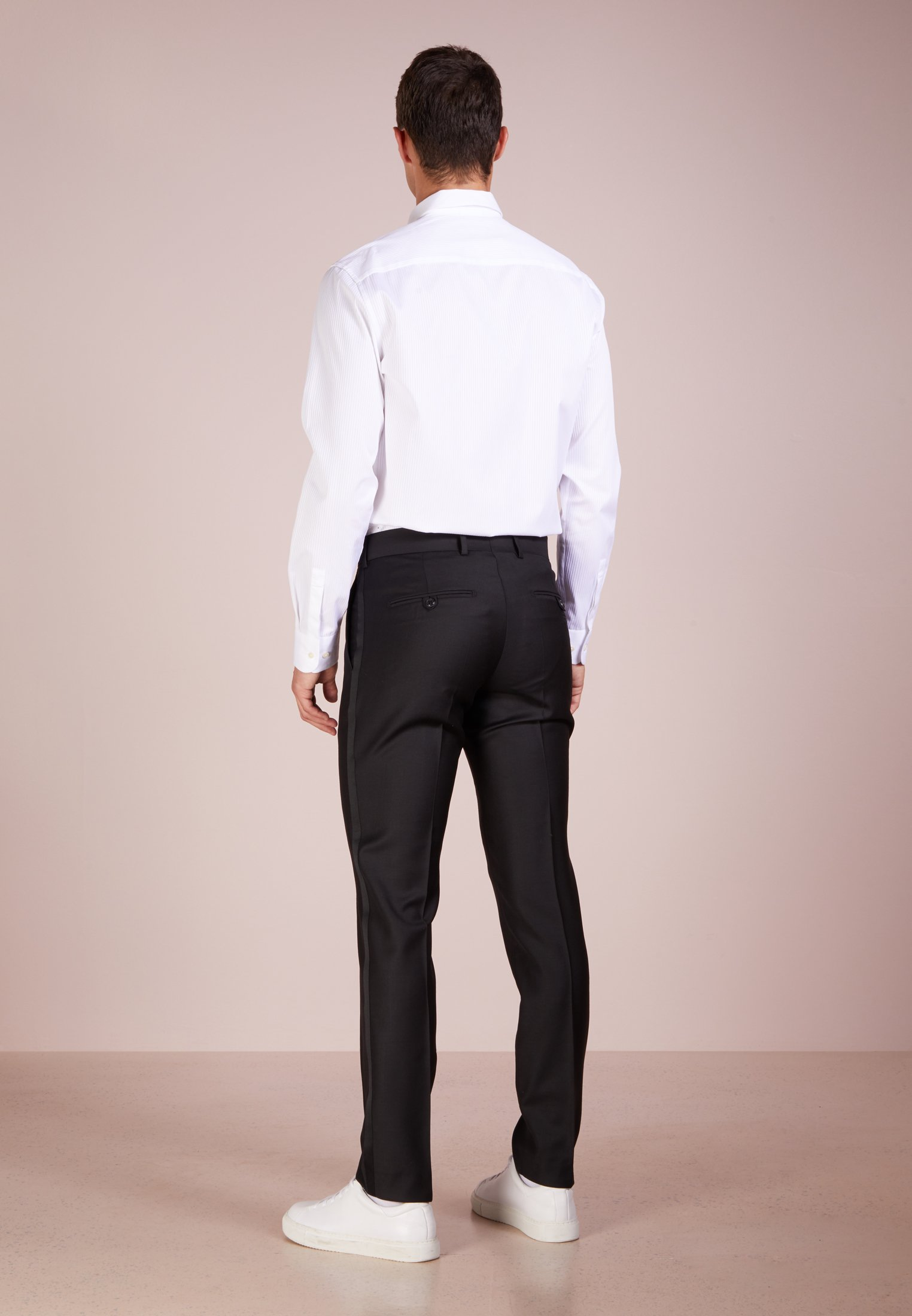 Tiger Of Sweden Terriss Tuxedo Pants - Suit Trousers Black
