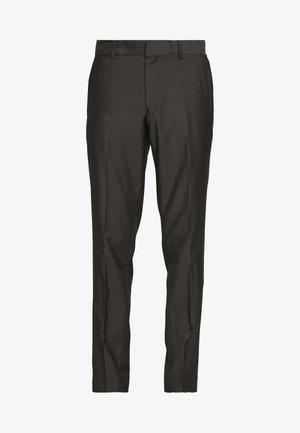 TORD - Pantaloni eleganti - espresso