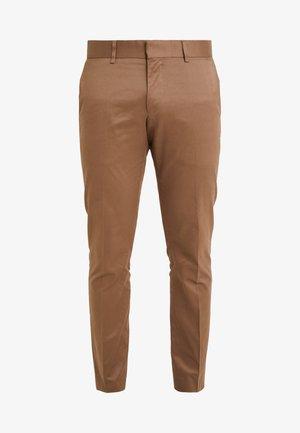 TORD - Pantalón de traje - vintage camel