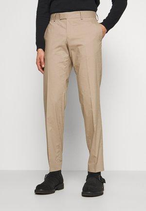 TORDON - Oblekové kalhoty - dark sand