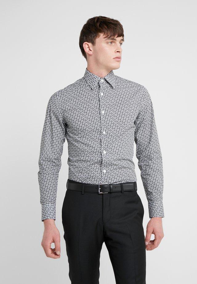 FARRELL SLIM - Formal shirt - black/white