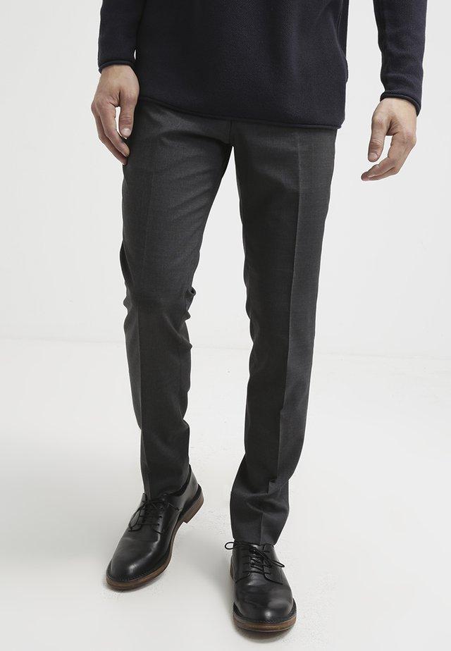 HERRIS - Spodnie garniturowe - dark grey