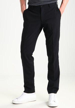 HERRIS - Oblekové kalhoty - black