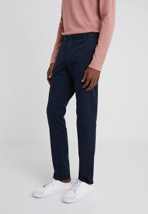 TRANSIT  - Pantalones - mottled dark blue