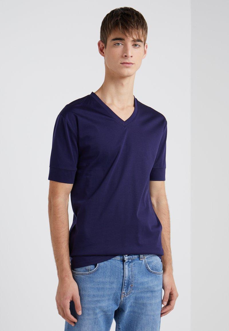 Tiger of Sweden - DIYON - Basic T-shirt - dark blue