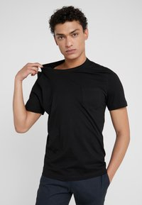 Tiger of Sweden - DIDELOT - T-shirt basic - black - 0
