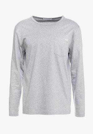 ABBE - Topper langermet - grey melange