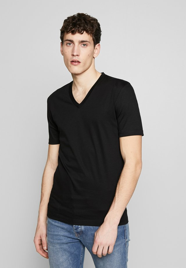 DIYON - Basic T-shirt - black