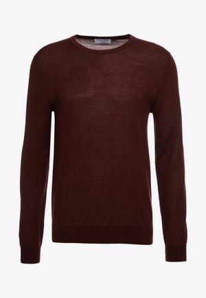 NICHOLS - Stickad tröja - regal red bordeaux