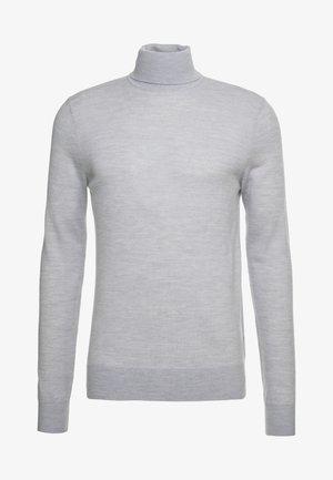 NEVILE - Stickad tröja - light grey melange