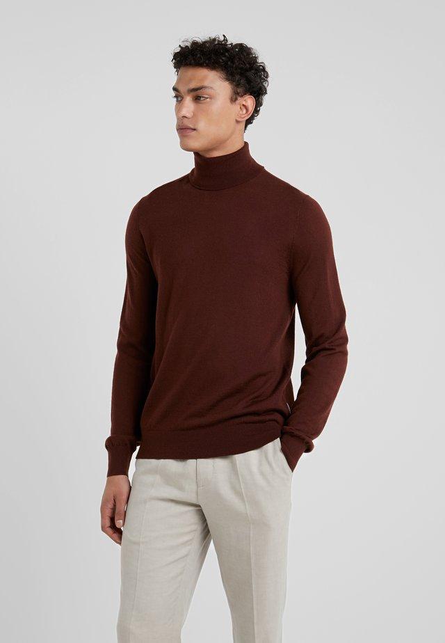 NEVILE - Stickad tröja - regal red bordeaux