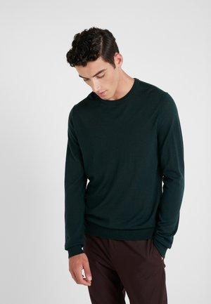 NICHOLS - Stickad tröja - scarab green