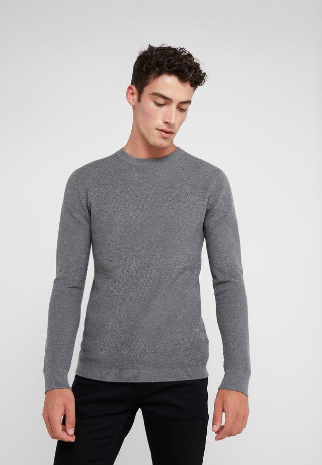 PARACHUTE - Strikkegenser - med grey melange