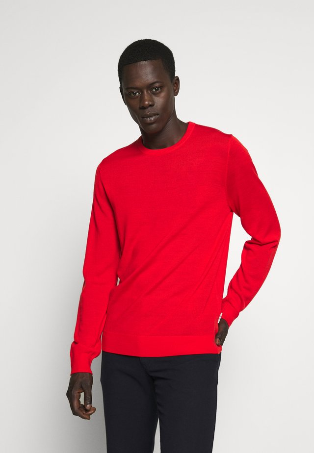 NICHOLS - Stickad tröja - flame red