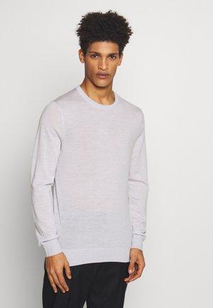 NICHOLS - Stickad tröja - light grey melange
