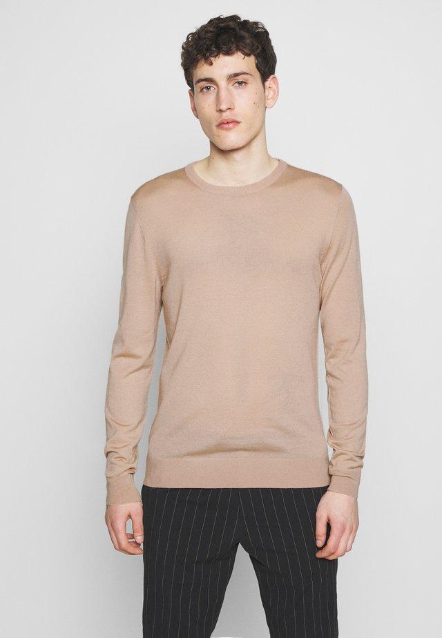 NICHOLS - Stickad tröja - woodrose
