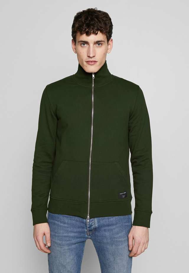 JANNES - Zip-up hoodie - military