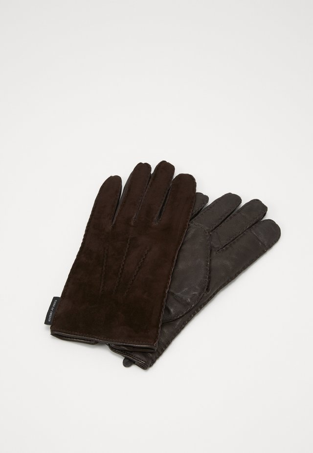 GUSTAVE - Fingervantar - dark brown