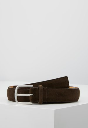 BJARKA - Belt - dark brown