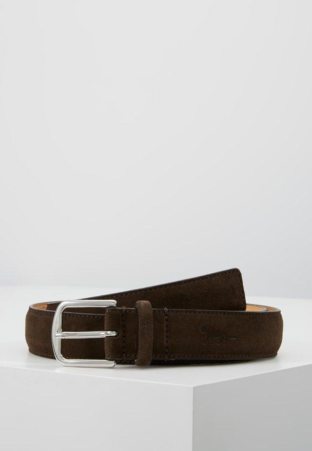 BJARKA - Skärp - dark brown
