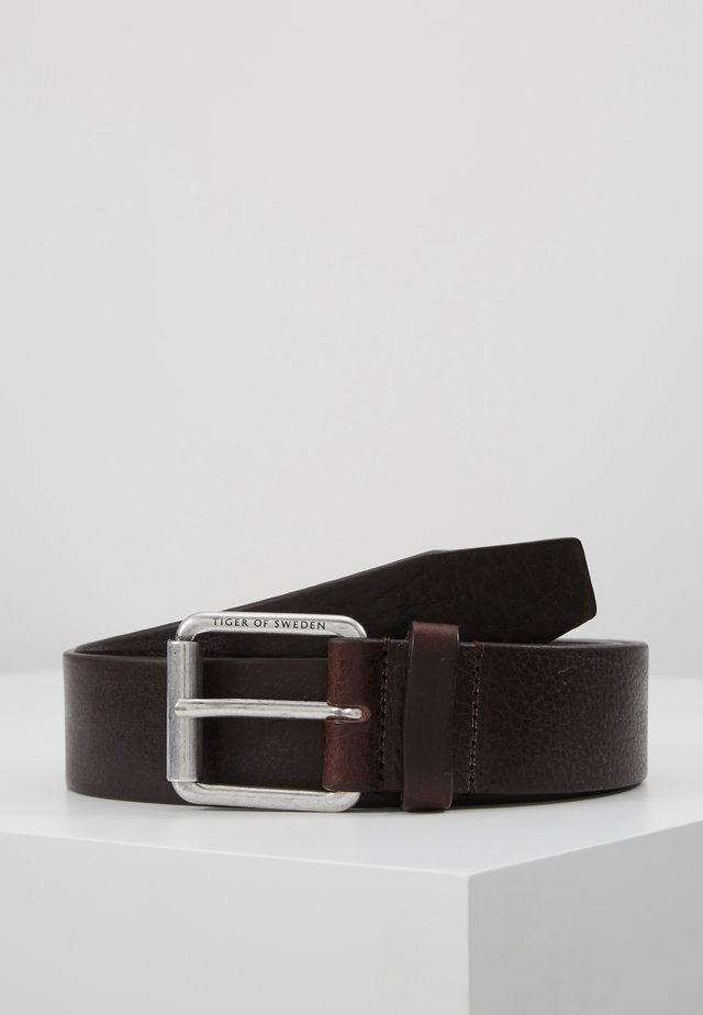 ROLAN - Skärp - dark brown