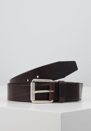 ROLAN - Gürtel - dark brown