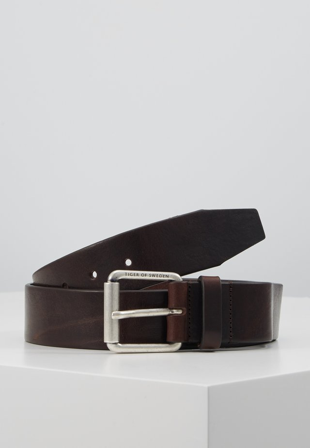 ROLAN - Belte - dark brown