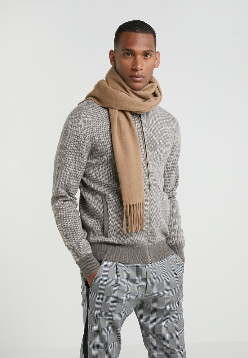 Tiger of Sweden - BERG - Scarf - dark honey
