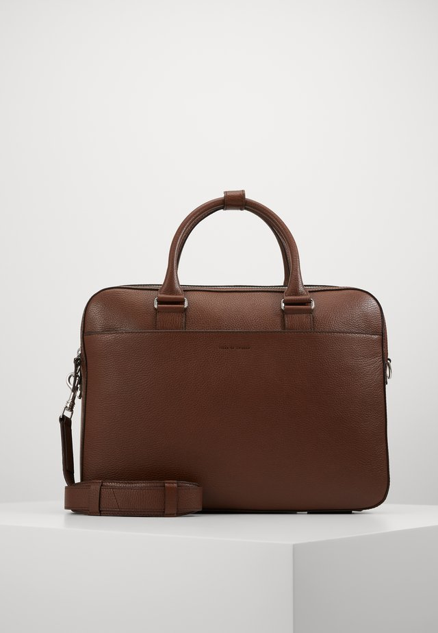 BURIN - Briefcase - cognac