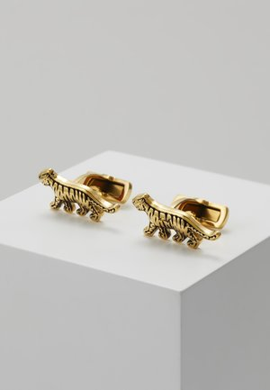 TIRAN - Cufflinks - gold-coloured