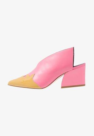 FLOYD - Slip-ins med klack - pink/taupe/multicolor