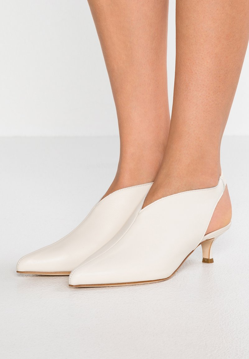 Tibi - MAX - Ankle boots - ivory