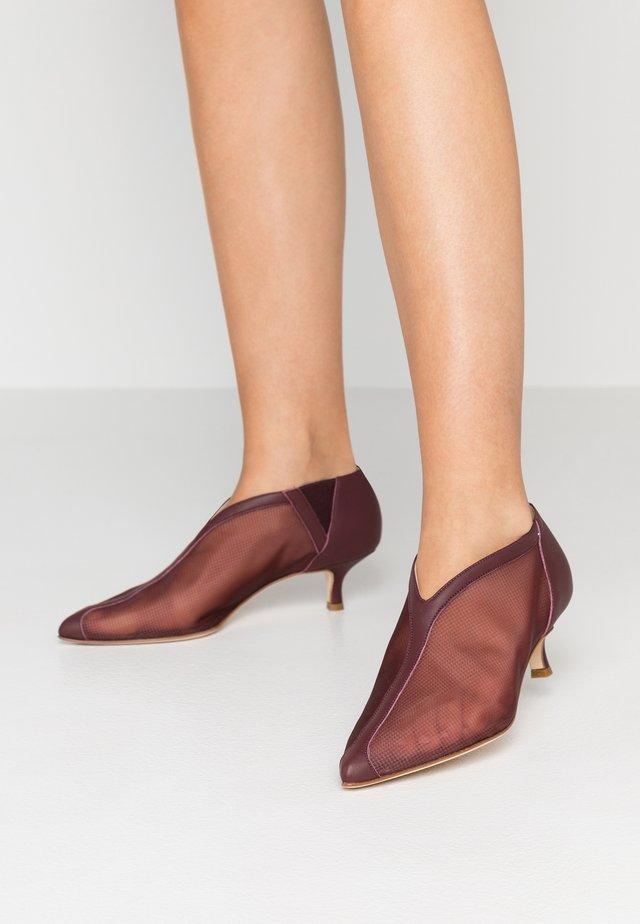 JOE - Ankle boots - wine