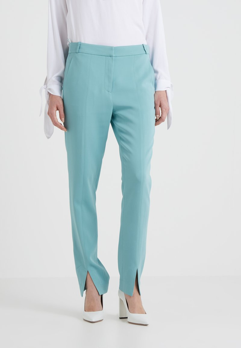 Tibi - SUITING BEATLE - Trousers - egg blue