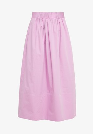 SMOCKED WAISTBAND - A-line skirt - pink