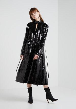 AVRIL SPLIT NECK DRESS - Cocktailkleid/festliches Kleid - black/navy