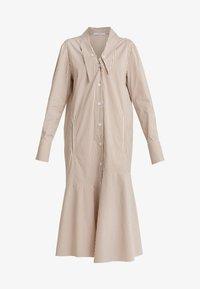 Tibi - KAIA FLARED SHIRT DRESS - Skjortekjole - khaki/white - 3