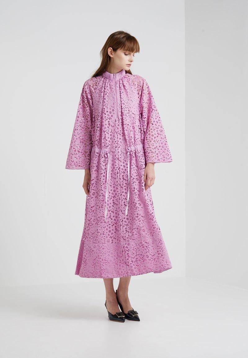 Tibi - Maxi dress - pink lilac