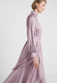 Tibi - MENDINI EDWARDIAN DRESS - Vestito estivo - lavender grey - 4