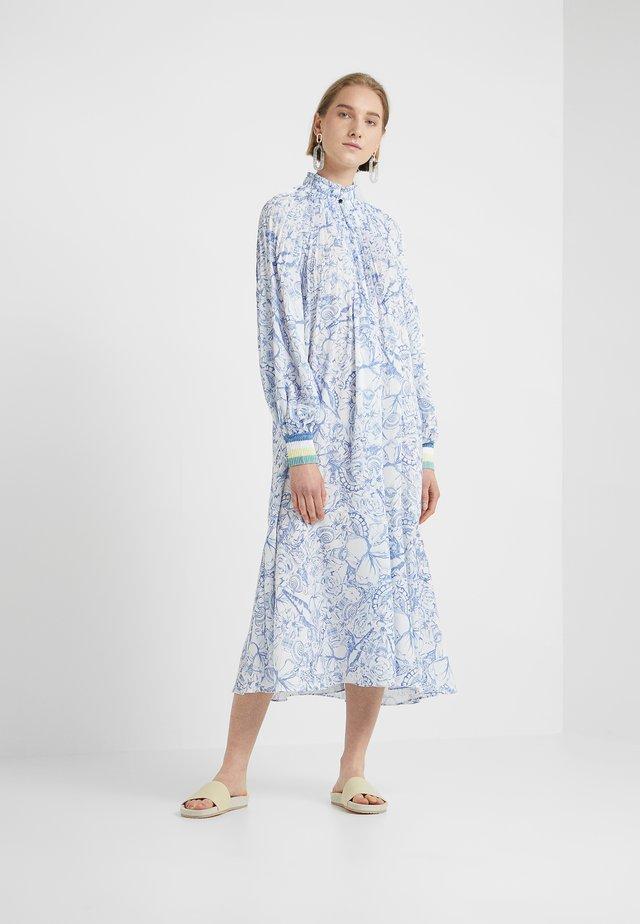 ISA - Sukienka letnia - white/blue