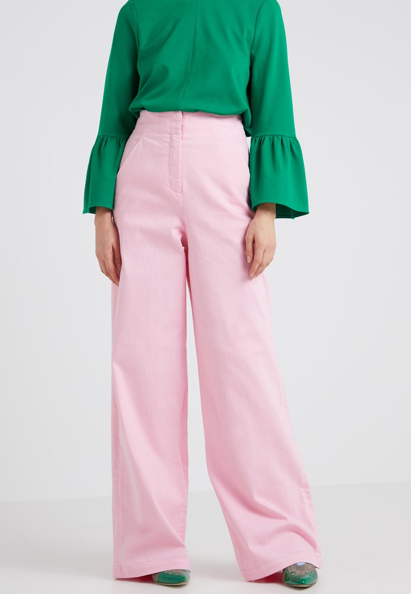 Tibi - Flared Jeans - pink