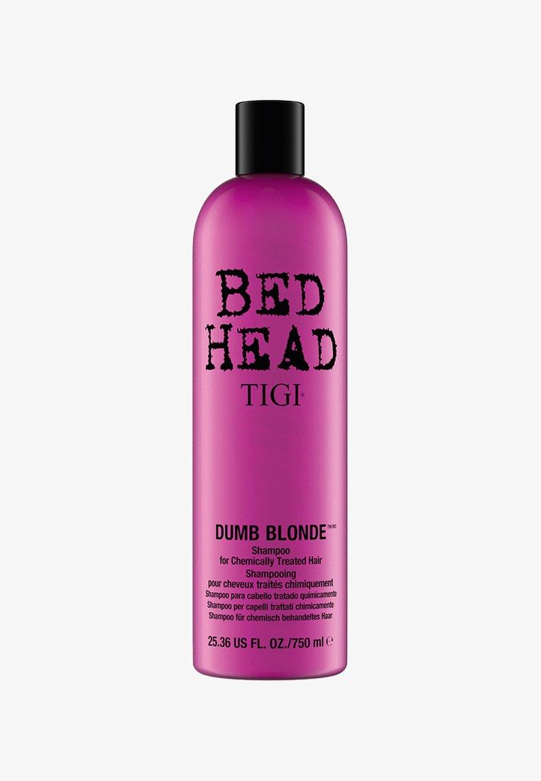Tigi - BED HEAD DUMB BLONDE SHAMPOO 750ML - Schampo - neutral