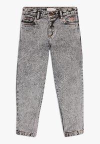 TINYCOTTONS - TINY BAGGY  - Straight leg jeans - snowy black - 0