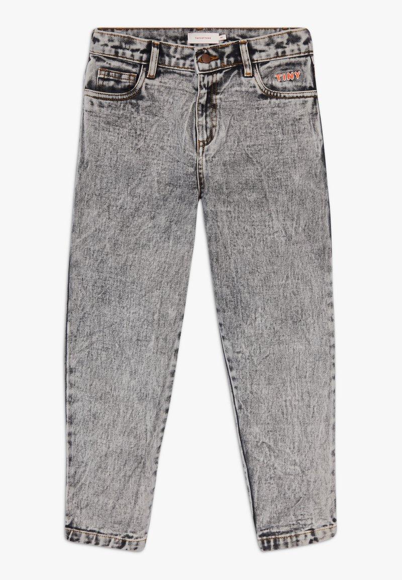 TINYCOTTONS - TINY BAGGY  - Straight leg jeans - snowy black